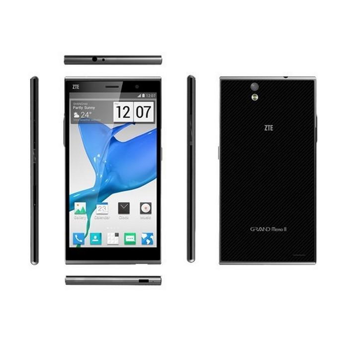 black zte 5 7 zoll smartphone grand memo type like